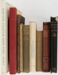 Books:Books about Books, [Books about Books]. Nine Substantial Works on Bookbinding. Variouspublishers. All in original cloth, with two of the moder...