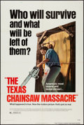 "Movie Posters:Horror, The Texas Chainsaw Massacre (Bryanston, 1974). One Sheet (27"" X 41""). Horror.. ..."