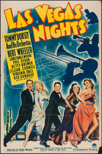 "Las Vegas Nights (Paramount, 1941). One Sheet (27"" X 41""). Musical"