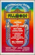"""Movie Posters:Rock and Roll, Fillmore (20th Century Fox, 1972). One Sheet (27"""" X 41""""). Rock and Roll.. ..."""