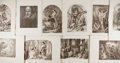 Books:Art & Architecture, [William Shakespeare]. Title Page and Ten Photographic Facsimiles of Plates from The National Shakespeare (Londo...