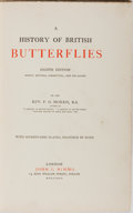 Books:Natural History Books & Prints, [Hand-Colored Plates]. F. O. Morris. A History of British Butterflies. Nimmo, 1895. Eighth edition. Minor rubbing to...