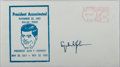 Autographs:U.S. Presidents, Lyndon B. Johnson, 36th President of the United States. Signed Commemorative Cover of the Kennedy Assassination. Near fine....