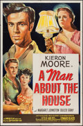 """Movie Posters:Drama, A Man About the House (20th Century Fox, 1948). One Sheet (27"""" X 41""""). Drama.. ..."""