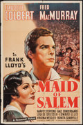 "Movie Posters:Drama, Maid of Salem (Paramount, 1937). One Sheet (27"" X 41""). Drama.. ..."