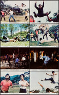 "Movie Posters:Action, Fists of Fury (National General, 1973). Mini Lobby Card Set of 8(8"" X 10""). Action.. ... (Total: 8 Items)"