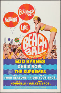 """Beach Ball (Paramount, 1965). One Sheet (27"""" X 41""""). Rock and Roll"""