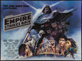 "Movie Posters:Science Fiction, The Empire Strikes Back (20th Century Fox, 1980). British Quad (30""X 40"") Black Title Style. Science Fiction.. ..."