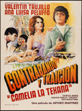 "Movie Posters:Action, Contrabando y traicion (Unknown, 1977). Mexican One Sheet (27.5"" X37""). Action.. ..."