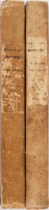 Books:Literature Pre-1900, James Fenimore Cooper. Homeward Bound: or, The Chase. Vol. I & II. Carey, Lea & Blanchard, 1838. First edition. ... (Total: 2 Items)