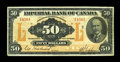 Canadian Currency: , Toronto, ONT- Imperial Bank of Canada $50 Nov. 1, 1923 Ch. 375-18-14. ...