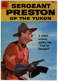 Silver Age (1956-1969):Adventure, Sergeant Preston of the Yukon #27 File Copy (Dell, 1958) Condition: VF/NM....