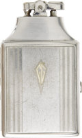 Movie/TV Memorabilia:Props, Clark Gable Cigarette Case with Lighter. A striking sterling silverRonson brand cigarette case with a built-in lighter, own... (Total:1 Item)