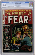 Golden Age (1938-1955):Horror, Haunt of Fear #9 (EC, 1951) CGC VF/NM 9.0 Off-white to whitepages....