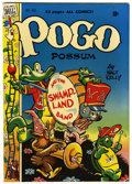 Golden Age (1938-1955):Funny Animal, Pogo Possum #1 (Dell, 1949) Condition: FN....