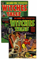 Golden Age (1938-1955):Horror, Witches Tales #4 and 12 Group Golden (Harvey, 1951-52) Condition:Average FN.... (Total: 2 Comic Books)