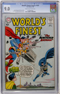 Silver Age (1956-1969):Superhero, World's Finest Comics #109 (DC, 1960) CGC VF/NM 9.0 Cream to off-white pages....
