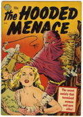 Golden Age (1938-1955):Horror, Hooded Menace #1 (Realistic Comics, 1951) Condition: VG....
