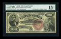 Large Size:Legal Tender Notes, Fr. 174 $100 1880 Legal Tender PMG Choice Fine 15....