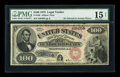 Large Size:Legal Tender Notes, Fr. 169 $100 1875 Legal Tender PMG Choice Fine 15....
