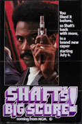 "Movie Posters:Blaxploitation, Shaft's Big Score! (MGM, 1972). One Sheet (27"" X 41"") Advance.Blaxploitation.. ..."