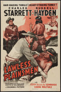 """Movie Posters:Western, Lawless Plainsmen (Columbia, 1942). One Sheet (27"""" X 41""""). Western.. ..."""