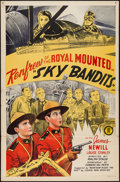 "Movie Posters:Action, Sky Bandits (Monogram, 1940). One Sheet (27"" X 41""). Action.. ..."
