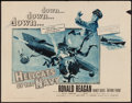 "Movie Posters:War, Hellcats of the Navy (Columbia, 1957). Half Sheet (22"" X 28"").War.. ..."