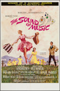 "Movie Posters:Academy Award Winners, The Sound of Music (20th Century Fox, 1965). One Sheet (27"" X41"")Academy Award Style. Academy Award Winners.. ..."