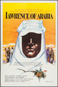 "Lawrence of Arabia (Columbia, 1962). One Sheet (27"" X 41"") Roadshow Style B. Academy Award Winners"