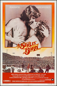 "A Star is Born (Warner Brothers, 1976). One Sheet (27"" X 41""). Musical"