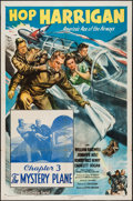 """Movie Posters:Serial, Hop Harrigan (Columbia, 1946). One Sheet (27"""" X 41"""") Chapter 3 -- """"The Mystery Plane."""" Serial.. ..."""