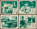 """Movie Posters:Serial, Jack Armstrong, the All American Boy (Columbia, 1947). Lobby Card Set of 4 (11"""" X 14"""") Chapter 11 -- """"Cosmic Annihilator."""" S... (Total: 4 Items)"""