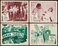 """Movie Posters:Serial, Jack Armstrong, the All American Boy (Columbia, 1947). Title Lobby Card and Lobby Cards (3) (11"""" X 14""""). Serial.. ... (Total: 4 Items)"""