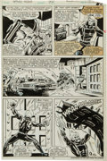 Original Comic Art:Panel Pages, Don Perlin Ghost Rider #40 Page 11 Original Art (Marvel,1980)....