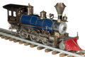 Other, LIVE STEAM MODEL OF A HISTORIC AMERICAN LOCOMOTIVE. Early 20th century. 12 x 29 inches (30.5 x 73.7 cm). ...