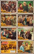 """Movie Posters:Western, Sunset in Wyoming (Republic, 1941). Lobby Card Set of 8 (11"""" X 14""""). Western.. ... (Total: 8 Items)"""