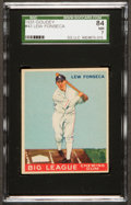 Baseball Cards:Singles (1930-1939), 1933 Goudey Lew Fonseca #43 SGC 84 NM 7....