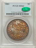 Morgan Dollars: , 1881 $1 MS64 PCGS. CAC. PCGS Population (3940/1007). NGC Census:(3877/686). Mintage: 9,163,975. Numismedia Wsl. Price for ...
