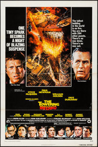 """The Towering Inferno (20th Century Fox, 1974). One Sheet (27"""" X 41""""). Action"""