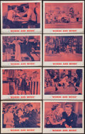 """Movie Posters:Musical, Words and Music (MGM, R-1962). Lobby Card Set of 8 (11"""" X 14""""). Musical.. ... (Total: 8 Items)"""