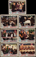 "Movie Posters:Musical, Melody and Moonlight (Republic, 1940). Lobby Cards (7) (11"" X 14""). Musical.. ... (Total: 7 Items)"