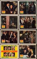 "Movie Posters:Thriller, Murder Among Friends (20th Century Fox, 1941). Lobby Card Set of 8 (11"" X 14""). Thriller.. ... (Total: 8 Items)"