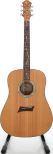 Musical Instruments:Acoustic Guitars, 2003 Michael Kelly Stage FFC Natural Acoustic Guitar, Serial #03110008....
