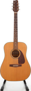 Musical Instruments:Acoustic Guitars, 1980s Fender F-210 Natural Acoustic Guitar, Serial # A90422462.....