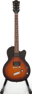 Musical Instruments:Electric Guitars, 1999 DeArmond by Guild M-65 Sunburst Solid Body Electric Guitar,Serial # IC98112452....