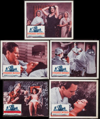 """Unmarried Mothers (President Films, 1956). Lobby Cards (5) (11"""" X 14""""). Exploitation. ... (Total: 5 Items)"""