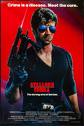 """Movie Posters:Action, Cobra (Warner Brothers, 1986). Autographed One Sheet (27"""" X 40.5"""") SS Advance. Action.. ..."""