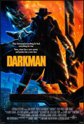 "Movie Posters:Action, Darkman (Universal, 1990). Autographed One Sheet (27"" X 40"") DS.Action.. ..."