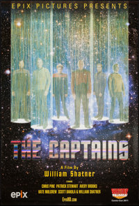 """The Captains (Epix, 2011). One Sheet (27"""" X 40""""). Documentary"""